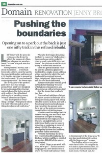 The Age: Domain Renovation - April 30, 2011